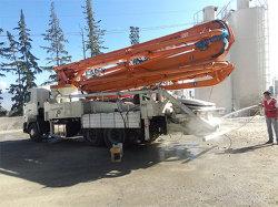 Condición nueva 49m montados sobre camiones Camión Bombas de hormigón