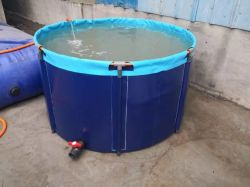 PVC防水シートの魚飼育用の水槽のためのプラスチック魚のいる池PVCプラスチックプール