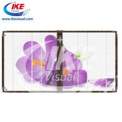 LED de exterior da janela assinar os fabricantes de vidro de parede LED