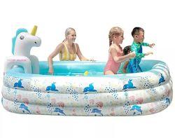 Piscina inflável Bolas Animais Marinhos exterior para a família e filhos