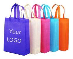 Kundenspezifischer Logo Druck Hohe Qualität Billiger Griff Nicht Gewobene Shopping Tasche