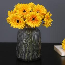 Margarita Flores de seda artificial Nupcial flores de crisantemo