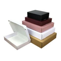 China Wholesale Custom Logo Colored Printing Fashion biologisch afbreekbaar Flat Pack Transportdozen voor golfpapier