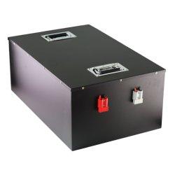 Ciclo de profunda Ferro Lítio LiFePO fosfato4 Bateria 48V 100 Ah