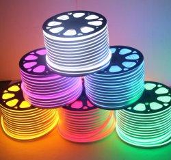 DC12 فولت تيار متردد 220 فولت تيار مستمر ضوء نيون ضوء LED علامة الحجم الصغير سعر رخيص عيد الميلاد الديكور الإضاءة المضادة للأشعة فوق البنفسجية LED نيون مرنة