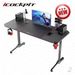 Saitu Office Furniture Electronic Competition Racing Game Desk Game computer Tafel Gaming Table voor gamer