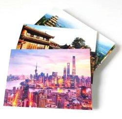 Custom Hot Sale Paper Tourist Attraction Picture Postcard