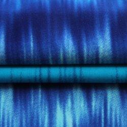 Hohe Ausdehnungs-antibakterielle Badebekleidung volle stumpfe Ripstop 80%Nylon 20%Spandex Druck-Verzerrung-strickendes Gewebe für Kleid/Badeanzüge/Yoga-Abnützung