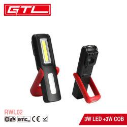Draagbare inspectielamp USB oplaadbare multifunctionele COB LED-werklamp Zaklamp met magnetische standaard en haak