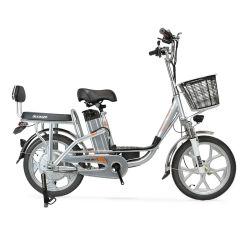 350W bicicleta eléctrica plegable de 18 pulgadas neumático Fat E Moto en stock