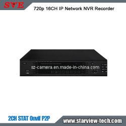 مراقبة 720p 16 CH Security IP Network NVR Recorder CCTV 2 SATA (SVN-N2016)