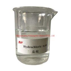 Haute qualité d'acide chlorhydrique HCl 31%-34%