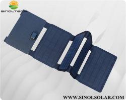 40 watts mono Dobrável Carregador Solar (Dual 5V saída DC+19USB V) de laptop (FSC-F0-400)