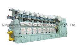 33/45 generatore azionato da motore, HFO, gas naturale, olio per pneumatici, gruppo elettrogeno a doppio combustibile e parti di ricambio