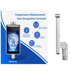 Touchless Biometrics 신체 온도 감지 시간 출결 기계 얼굴 측정 턴스티일 인식 장치