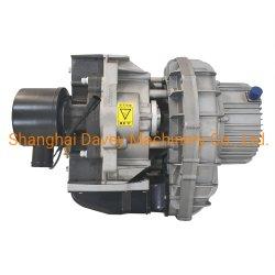 Espiral Isentos de óleo da bomba do compressor de ar 6HP 14cfm a extremidade do ar