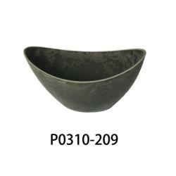 Effet de serre de plus en plus de pépinière en plastique des pots avec les trous de drainage inférieur