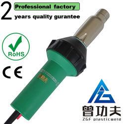 2000W hete lucht Plastic Lasapparatuur Warmtepistool, PVC PP HDPE hete lucht lassers met 20-800 graden en hoger vermogen