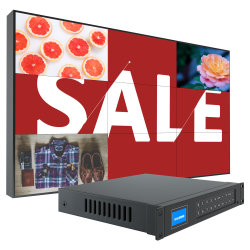 LCD Advertising Player VLC Media Player Download 46 inch Video Media-advertentiespeler