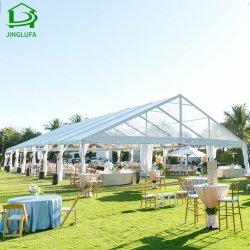 大きいアルミニウムフレームの防水PVCが付いている贅沢で白いですか透過屋外または党または結婚式のテント