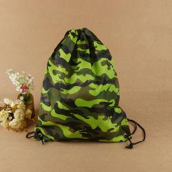 Zakken van Drawstring van de Camouflage van de Polyester van de Druk van de bevordering de Volledige