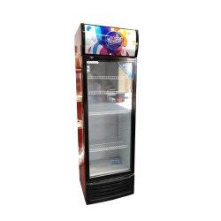 Refrigerador de Bebidas única porta de vidro Sucos Geladeira bebidas refrigerantes Vertical Exibir Frigorífico