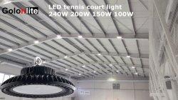 240W 200W Foco 150W en el interior de la Bahía de montaje alto Lámpara de luz LED de iluminación de pista de tenis