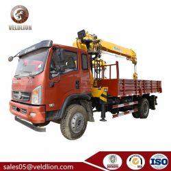 Camion idraulico della gru di controllo del braccio diritto di Dayun 6.3ton di alta qualità con la gru