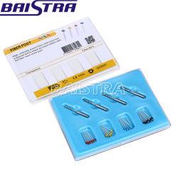 1.2-1.8mm Dental Fibra AAA Post & fibra do núcleo da coluna de resina Material de dentisteria