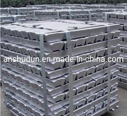 Hoher Reinheitsgrad-Aluminiumbarren-Al-Barren billig 99.91%