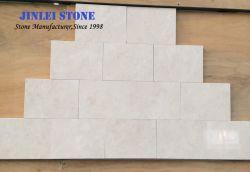 Het natuurlijke Beige Kalksteen van de Room van Portugal Moca van het Kalksteen van Vratza van de Bekleding van de Muur van het Kalksteen van de Steen voor de Voorzijde en de Plakken van de Muur