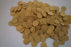Disk Shape Bronze Powder Sintered Disc Filter