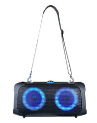 Dual 6,5-inch draadloze Bluetooth Power-luidspreker met DJ-effect