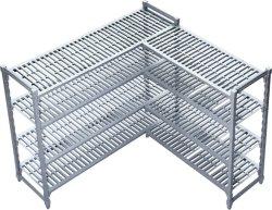 Polipropileno de aluminio cocina congelador Rack estanterías de un cuarto frío.