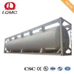 20FT en 40FT de Container van de Tank van ISO voor het Opslaan van Brandstof in Filippijns