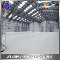 Materiali da costruzione del magazzino, magazzino Multi-Story della struttura d'acciaio, struttura d'acciaio saldata