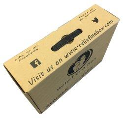Impressão Offset Cmyk prevalente caixas personalizadas com logotipo