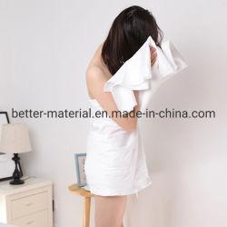 تنظيف الجسم والوجه من الفندق لا يشعر بسرعة جفاف منشفة حمام منسوجة للاستخدام مرة واحدة