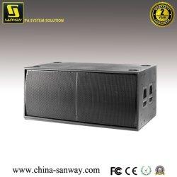 """98 dB Spl kiezen 15 """" Apparatuur van de Spreker van de Mixer van DJ van de Doos van het Kabinet Subwoofer (uit Sanway sf-15B)"""