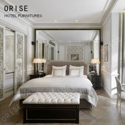 Muebles de Dormitorio Hotel 5 estrellas de lujo Muebles de dormitorio en suite habitación diseño clásico