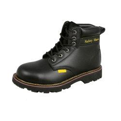 De Industriële Schoenen van de Veiligheid van Nubuck van de Rand van Goodyear met de Teen en de Plaat Midsole van het Staal van het Staal