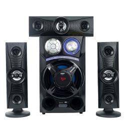Jerry bon marché de gros et de Hot Sale 5.1 Haut-parleurs pour Home Cinéma avec carte SD MMC USB MP3 et de contrôle à distance etc.
