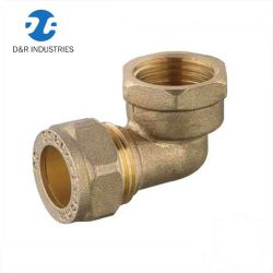 Le Dr raccord de flexible hydraulique en laiton pour tuyaux PE