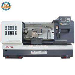 Ck6163 CK6180 Ck61100 Ck61125 plana horizontal giro Manual Manual de metal pesado Torno CNC gran máquina Torno CNC