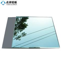 平らな2-12mmのゆとりの板ガラス一方通行アルミニウムミラー