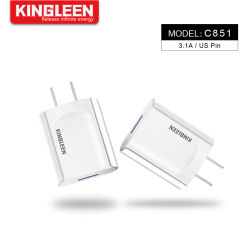 Modèle C851 chargeur intelligent port USB unique fiche mâle USA