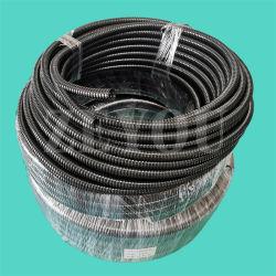 El cable eléctrico negro PA de PVC flexible de plástico PE PP tubo ondulado