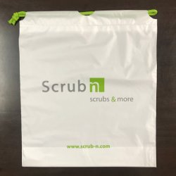 Afgedrukte Plastic Zakken Drawstring voor Verpakking Hf1307