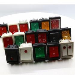 角形ソリッドボタンサーモスタットスイッチ 16A 250V オーブンダンプスイッチ、 CE 付き