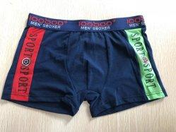 De comfortabele Boksers Korte Underwears van de Mensen van de Manier van de Onderbroek 95%Cotton5%Spandex